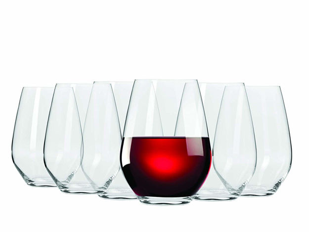 Whiskey Tumbler, Non-Lead Crystal-Clear Glass, Venis (400 ml) Set of 6