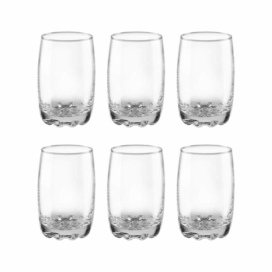 Crystal Clear Water and Juice Glass, 240 ml (Set of 6)