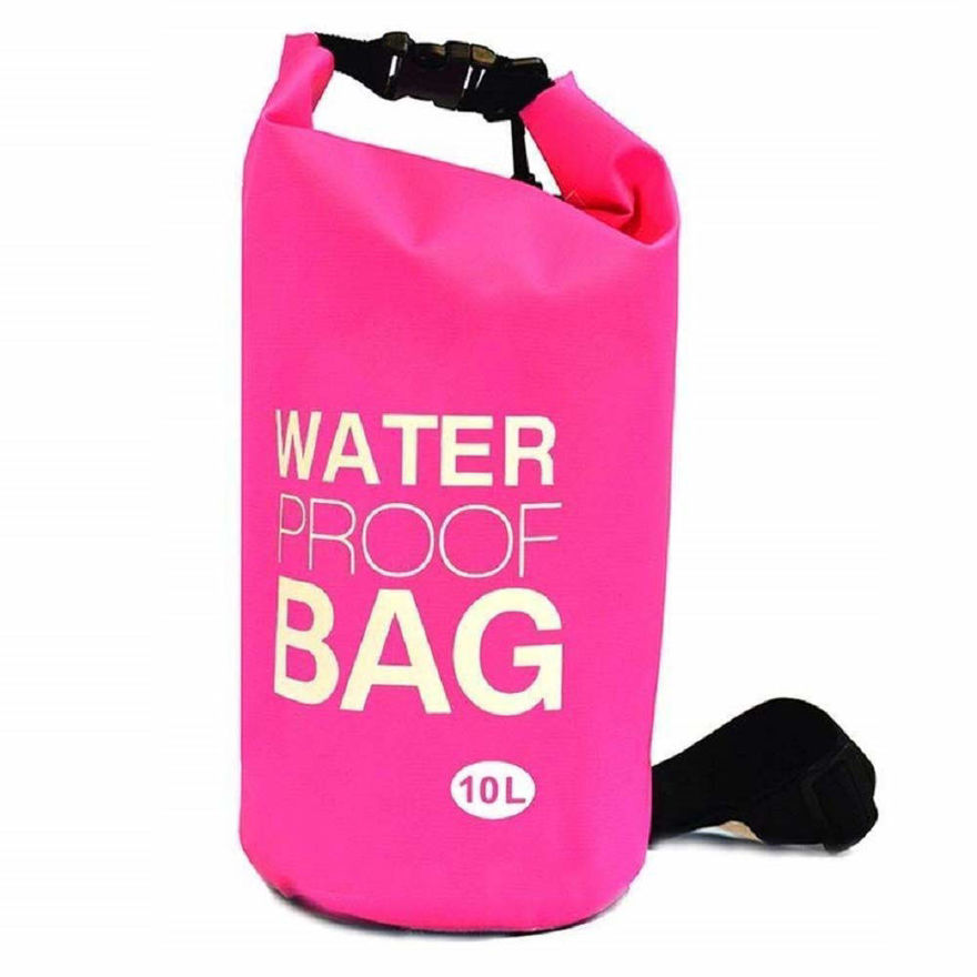 Picture of 10 Liter Waterproof Bag for Swimming, Camping, Hiking & Many More