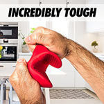 Picture of 2 Silicone Heat Resistant Cooking Pinch Mitts,Microwave Oven Hand Gloves,Baking Oven Gloves (Set of 2)