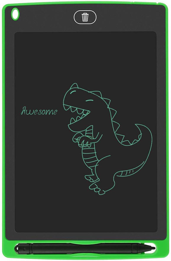 Picture of 8.5 Inch LCD Writing & Drawing Tablet with Stylus for Kids and Office Use (Random Color)