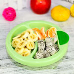 Picture of Baby Sucking Bowl Cup Children Feeding Warming Plate Dishes Tableware Baby Fixed Food Bowl