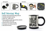 Picture of Battery Operated Automatic Self Stirring Mug for Auto Mixing Tea, Coffee, Hot Chocolate, Soup(Assorted Color)