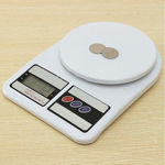 Picture of Electronic Digital Multipurpose Kitchen Weighing Scale Machine (White)