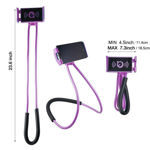 Picture of Flexible 360° Degree Rotation Hanging Neck Lazy Stand/Bracket Holder for All Smartphones
