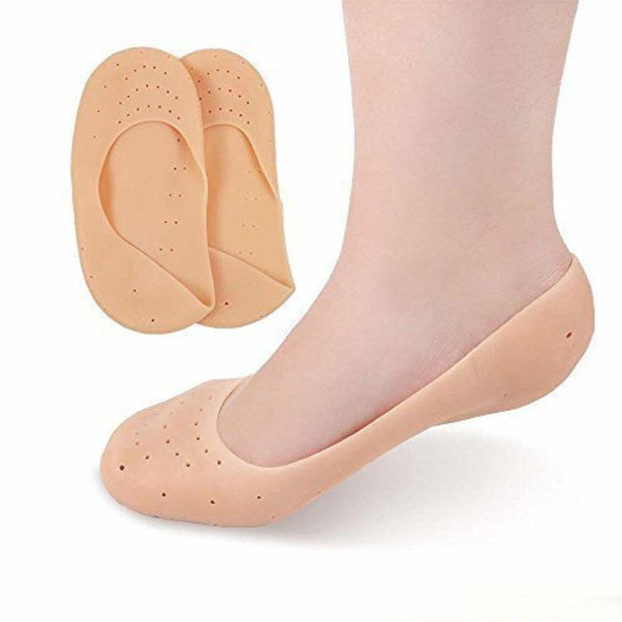 Picture of Full Length Silicone foot Protector Moisturizing Gel Foot Socks