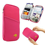 Picture of Multi Purpose Passport Holder for Passport, Credit Card, Debit Card & Other Documents (Assorted Color)
