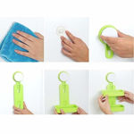 Picture of ABS Double Layer Soap Box Holder with Suction Cup (Medium, Assorted Colour)