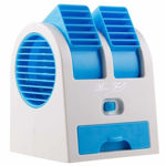 Picture of Mini Portable USB Rechargeable & Battery Operated Fan