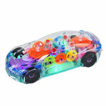 Super Car Toy, Car Toy for Kids with 360 Degree Rotation, Gear Simulation Mechanical Car, Concept Racing Car, Sound & Light Toys for Kids Boys & Girls