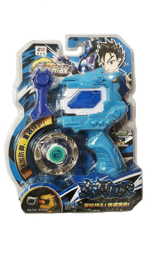 Beyblade 3d System Metal Masters Fury With Handle Launcher  (Multicolor)