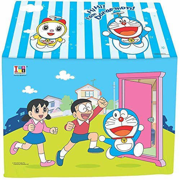 Jumbo Size Extremely Light Weight , Water Proof Kids Play Tent House for 10 Year Old Girls and Boys (Doraemon Tent)