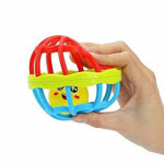 Klivory Soft Plastic Rubber Body Rolling Hand Bell Ball Baby Rattles Toy Rattle (Multicolor) Rattle (Multicolor) Rattle  (Multicolor)