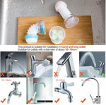 Picture of 360 Degree Adjustable Water Saving Faucet Filter Tap for Kitchen   Random Color (1)