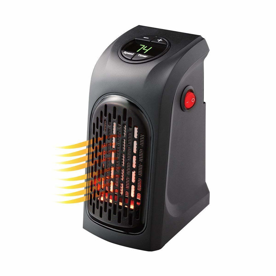Picture of 400W Electric Mini Portable Handy Heater For Indoor And Outdoor (Black).