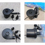 Picture of AC Electric Vacuum Air Pump for Quickly Inflates/Deflates Sofa, Bed, Swimming Pool Tubes, Toys,Air Bags, Mattresses, Inflatable Stuffs