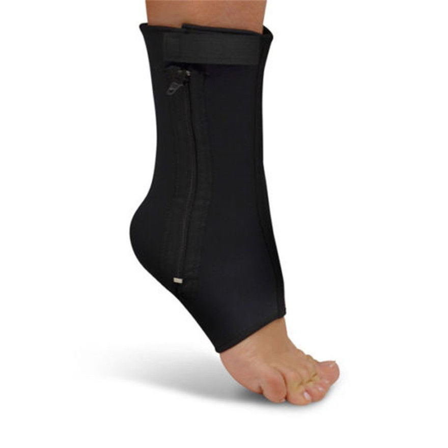 Picture of Ankle Weakness Genie Zip Up Compression Pain Relief for Men and Women