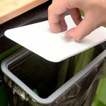 Picture of Attach A Trash Portable Hanging Trash Bag Holder For Garbage in Kitchen