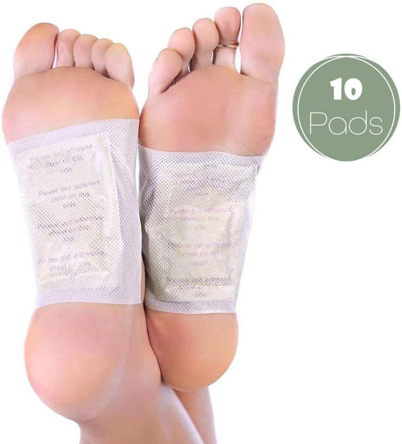 Picture of Cleaning Detox Foot Spa Pads/Patches for Toxins, ABS Cleansing   Pack of 10