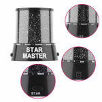 Picture of Colorful LED Star Master Night Light, LED Star Projector Lamp