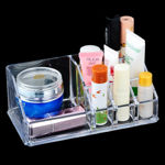 Picture of Cosmetic Makeup Jewellery Lipstick Storage Organiser Holder Box (9 compartments)