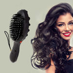 Picture of Electronic Magnetic Hair Massager Acupressure Head Hair Brush Vibrator Massager Brush