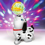 Musical Toys For Kids, Musical Dancing Dog With Lights And Music (White)