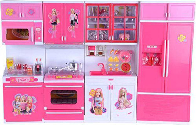 My Sweet Modern Kitchen set with flashing top light and music