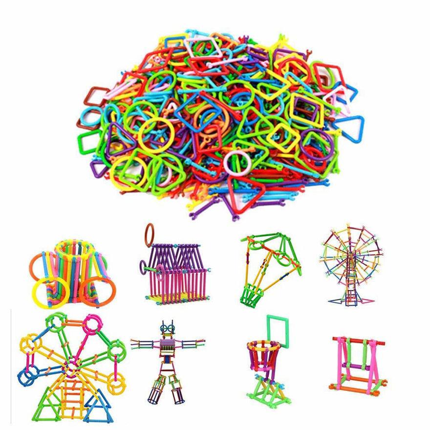 Smart Stick Assembly Building Blocks for Kids - Multi Color.