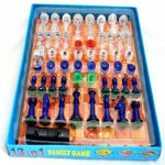 13 in 1 Family Board Game non magnatic Including Chess, Snakes-Ladders, Backgammon, Ludo, Tic-Tac-Toe, Checkers, Travel Bingo, Football, Space Venture, Steeplechase Set Game for all people