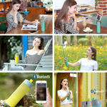 Picture of Multifunctional Bluetooth Speaker Selfie Stick with Portable Power Bank, Wireless Self Timer and Phone Holder USB/TF Card (Assorted Color)