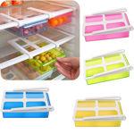 Picture of Plastic Fridge Storage Organizer Container with Lid   1 Piece, Multicolour