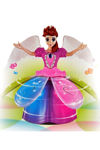 Angel Girl with Light and Music, Dancing Rotating Musical Fairy Princes Angel Doll Toy for Kids (Angel Girl)