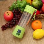 Picture of Portable Electric Mini USB Juicer Bottle for Making Juice & Shake (2 Blade Juicer Bottle)
