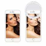 Picture of Portable LED Ring Selfie Light for Smartphones, Tablets and iPhone