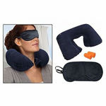 Picture of Portable Three Layers Neck Pillow with Tractor Massager Exerciser for Cervical Spine Neck, Back & Shoulder Pain (Random Color)