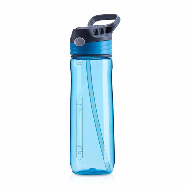 Picture of Press Water Bottle for Sports, Travel, Home, School (Assorted Color)