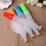 Picture of Set of 2 Silicone Baking Brushes Liquid Oil Pen for Cake and BBQ (Assorted Color)