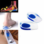 Picture of Silicone Gel Heel Protector Insole Cups for Swelling, Pain Relief, Foot Care Support Cushion for Men and Women (1 Pair)