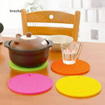 Picture of Silicone Round Shaped Hot Pad for Bowls, Dishes, Pot, Cup