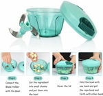 Picture of Smart Quick Hand Roller Type Vegetable Chopper (Assorted Color)