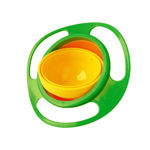 Picture of Universal 360 Degrees Rotates Spill Proof & No Mess Gyro Bowl for Baby Kids