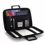 Picture of Unisex Hard Shell Briefcase Laptop Bag with Strap | Laptop Briefcase Bag (Assorted Color)