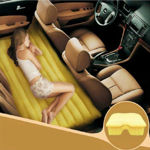 Picture of Travel Car Bed Sofa with Two Inflatable Pillow and Air Pump for Car Back Seat