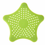Picture of Star Design Silicone Sink Filter Colander Strainer for Kitchen (Set of 6)