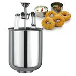 Picture of Stainless Steel Perfectly Shaped Menduwada Maker Machine with Stand