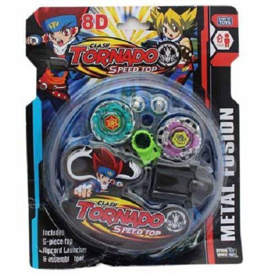 Beyblade, 2 Ripchord Launcher and Battlefield Set