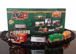 Choo Choo Classical Toy Battery Operated Train Set with Light & Sound   Kids Toy Train Emits Real Smoke Light Sound Track
