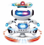 Dancing Robot with 3D Lights and Music, Multi Color