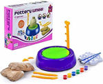 Electric pottery wheel by johnnie boy pottery wheel game ,pottery wheel clay set toys for kids- Multi color